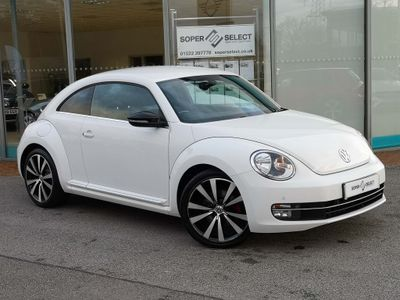 Volkswagen Beetle Hatchback 2.0 TSI Turbo Black DSG 3dr