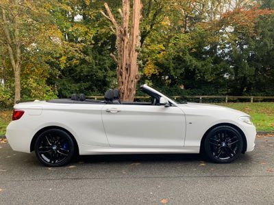 BMW 2 Series Convertible 2.0 218d M Sport (s/s) 2dr