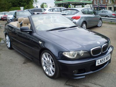 BMW 3 Series Convertible 2.2 320Ci 320 Sport Auto 2dr