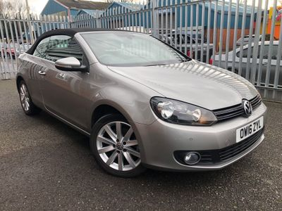 Volkswagen Golf Convertible 2.0 TDI BlueMotion Tech SE Cabriolet 2dr