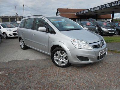 Vauxhall Zafira MPV 1.6 i 16v Exclusiv 5dr