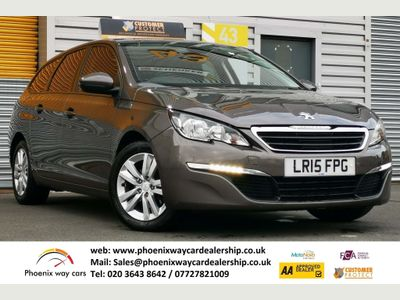 Peugeot 308 SW Estate 1.2 Active EAT6 (s/s) 5dr