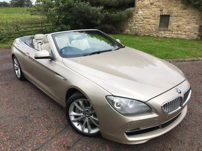 BMW 6 Series Convertible 4.4 650i V8 SE 2dr