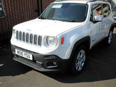 Jeep Renegade SUV 2.0 MultiJetII Limited Auto 4WD (s/s) 5dr