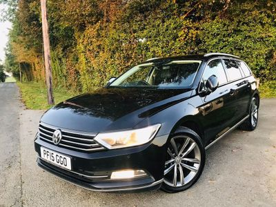 VOLKSWAGEN PASSAT Estate 1.6 TDI BlueMotion Tech GT DSG (s/s) 5dr