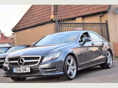 Mercedes-Benz CLS Coupe 3.0 CLS350 CDI BlueEFFICIENCY AMG Sport 7G-Tronic Plus 4dr
