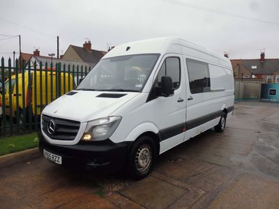 MERCEDES-BENZ SPRINTER Panel Van 313 LWB High Roof 6 Seater Crew Bus