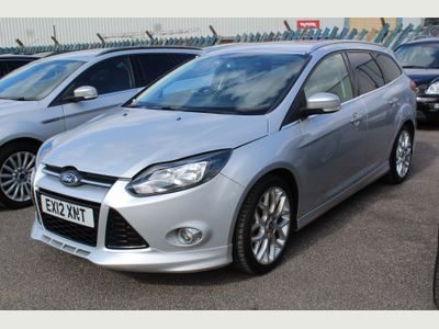 Ford Focus Estate 1.6 TDCi Zetec S 5dr
