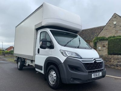CITROEN RELAY Chassis Cab 2.2 HDi 35 L4 Luton 4dr (Heavy)
