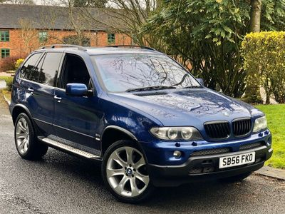 BMW X5 SUV 3.0 d BluePerformance Le Mans Blue Sport 5dr