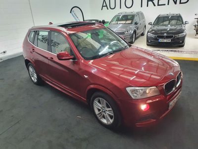 BMW X3 SUV 2.0 18d M Sport sDrive 5dr