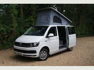 Volkswagen Transporter Camper T6 150PS SWB 6 Seat 4 Berth Surfwagon