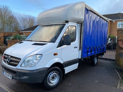 Mercedes-Benz Sprinter Curtain Side MWB 313 CDI EURO 5 curtain-side