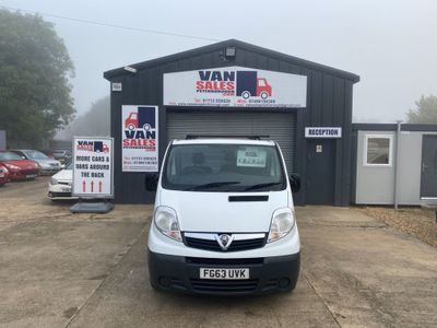 Vauxhall Vivaro Panel Van 2.0 CDTi 2900 Panel Van LWB 4dr (LWB, EU5)
