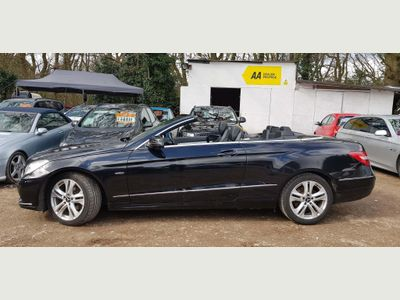 Mercedes-Benz E Class Convertible 2.1 E220 CDI BlueEFFICIENCY SE Cabriolet 7G-Tronic Plus 2dr