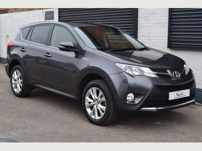 Toyota RAV4 SUV 2.0 V-Matic Icon M-Drive S 4WD 5dr (leather, nav)