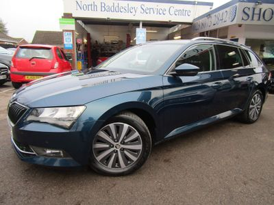 SKODA Superb Estate 1.6 TDI Greenline SE Technology (s/s) 5dr