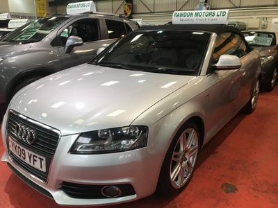 Audi A3 Cabriolet Convertible 1.9 TDI S line 2dr