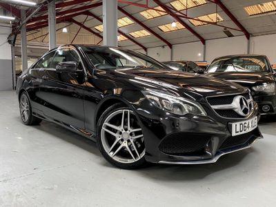 Mercedes-Benz E Class Coupe 2.1 E220 CDI BlueTEC AMG Line 7G-Tronic Plus 2dr