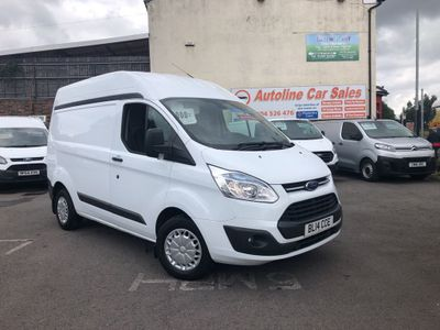 FORD TRANSIT CUSTOM Panel Van 2.2 TDCi 310 L1H2 Trend Panel Van 5dr