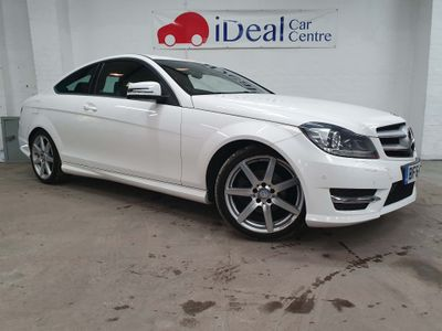 Mercedes-Benz C Class Coupe 1.6 C180 AMG Sport Edition 2dr