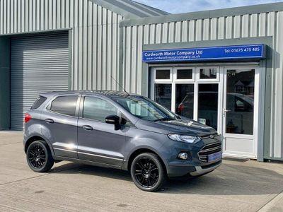 Ford EcoSport SUV 1.0 T EcoBoost Titanium S 5dr