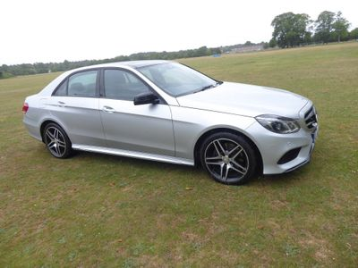 Mercedes-Benz E Class Saloon 2.1 E220 CDI BlueTEC AMG Night Edition (Premium) 7G-Tronic Plus 4dr