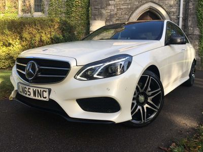Mercedes-Benz E Class Saloon 3.0 E350 CDI BlueTEC AMG Night Edition (Premium Plus) 9G-Tronic Plus 4dr