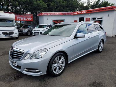 Mercedes-Benz E Class Estate 2.1 E220 CDI BlueEFFICIENCY Avantgarde 7G-Tronic Plus (s/s) 5dr