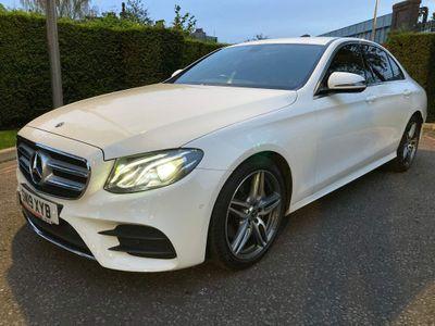 Mercedes-Benz E Class Saloon 2.0 E200 AMG Line G-Tronic+ (s/s) 4dr