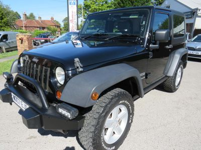 Jeep Wrangler Convertible 2.8 CRD Sport Soft top 4x4 2dr