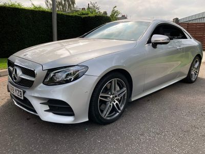Mercedes-Benz E Class Coupe 2.0 E350 AMG Line G-Tronic+ (s/s) 2dr