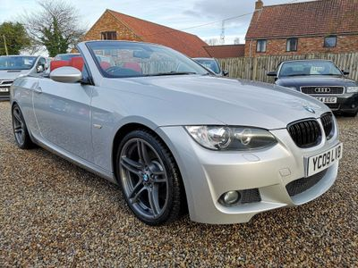 BMW 3 Series Convertible 3.0 325d M Sport Highline 2dr