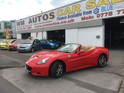 Ferrari California Convertible 4.3 2dr