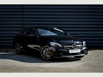 Mercedes-Benz C Class Saloon 2.0 C300 AMG Line (Premium) G-Tronic+ (s/s) 4dr