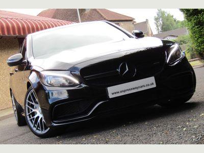 Mercedes-Benz C Class Saloon 4.0 C63 V8 BiTurbo AMG SpdS MCT (s/s) 4dr
