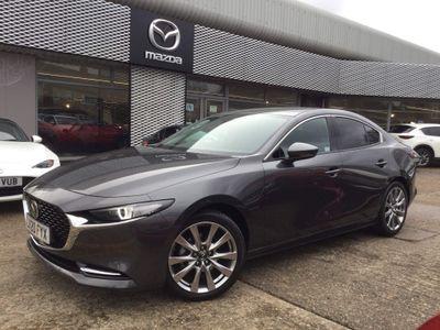 Mazda Mazda3 Saloon 2.0 SKYACTIV-X MHEV Sport Lux (s/s) 4dr