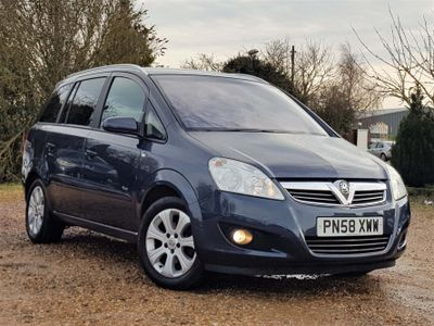 Vauxhall Zafira MPV 1.6 i 16v Breeze Plus 5dr