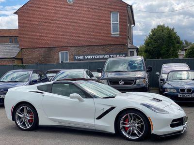 Corvette C7 Coupe 6.2 V8 STINGRAY TARGA AUTOMATIC