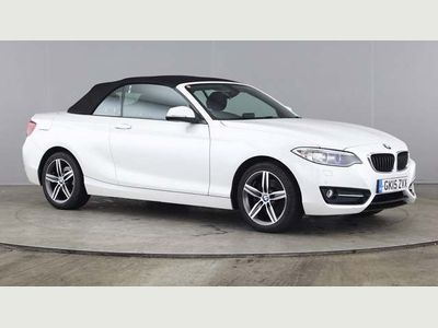 BMW 2 Series Convertible 2.0 220d Sport (s/s) 2dr