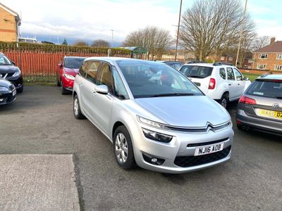 Citroen Grand C4 Picasso MPV 1.6 BlueHDi VTR+ EAT6 (s/s) 5dr