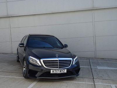 Mercedes-Benz S Class Saloon 3.0 S350L d AMG Line (Premium) 9G-Tronic Plus (s/s) 4dr
