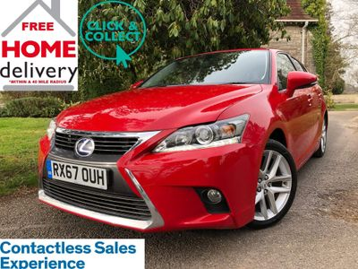 Lexus CT 200h Hatchback 1.8 200h Luxury CVT (s/s) 5dr