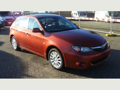 Subaru Impreza Hatchback AWD LEFT HAND DRIVE MANUAL PETROL 5DR