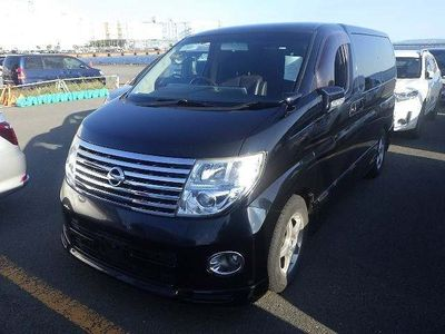 Nissan Elgrand MPV Highway Star 4wd Curtains P doors