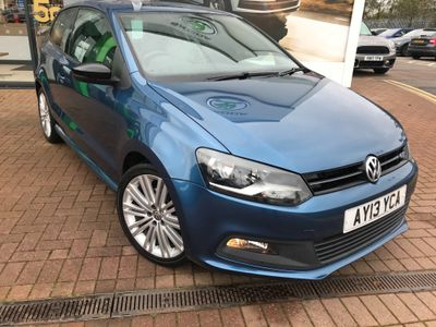 Volkswagen Polo Hatchback 1.4 TSI ACT BlueGT 3dr