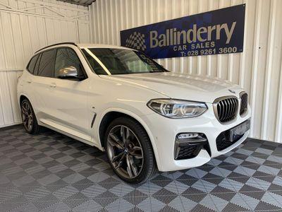 BMW X3 SUV 3.0 M40d Auto xDrive (s/s) 5dr