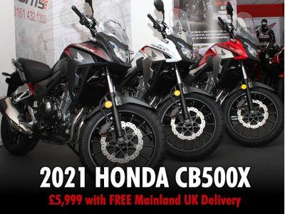 Honda CB500 Adventure 500 XA ABS
