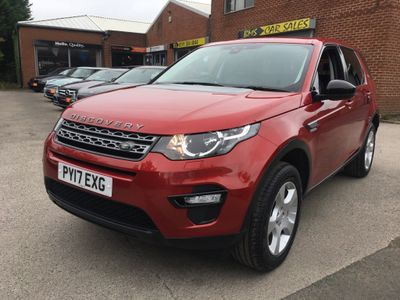 Land Rover Discovery Sport SUV 2.0 TD4 Pure Edition 4WD (s/s) 5dr