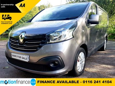 RENAULT TRAFIC Panel Van 1.6 dCi Energy SL27 Sport Low Roof Van 5dr